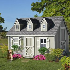 10 x 8 Victorian Cape Cod Cozy Kennel
