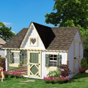 10 x 8 Victorian Cozy Kennel's feature image