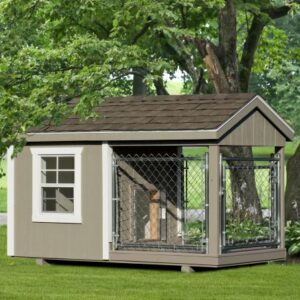 4 x 8 Custom Dog Kennel's feature image