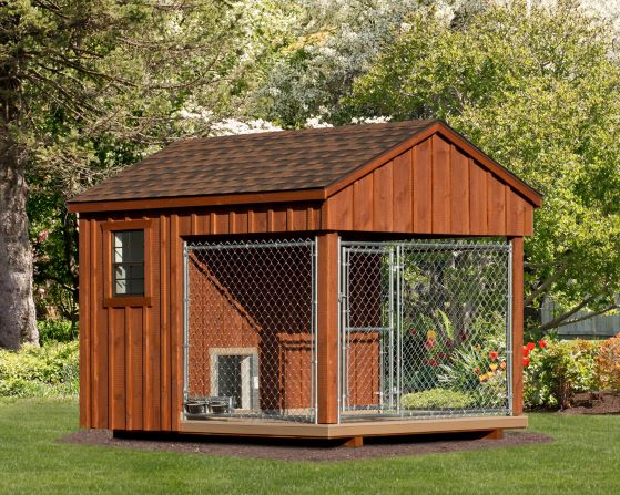 8 x 10 Custom Dog Kennel