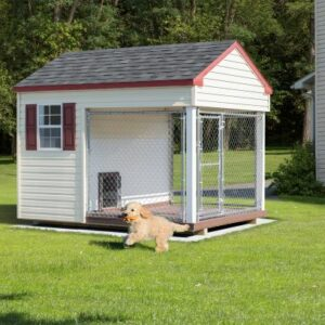 6 x 8 Custom Dog Kennel's feature image