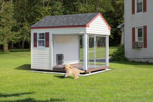 6 x 8 Custom Dog Kennel