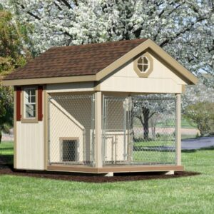 6 x 10 Custom Dog Kennel