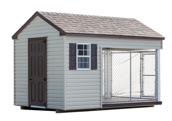 8 x 12 Custom Dog Kennel