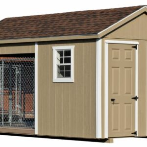 8 x 14 Custom Double Dog Kennel
